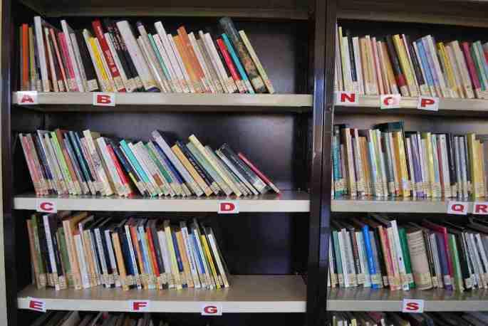 Prestatgeria biblioteca Polinyà de Xúquer