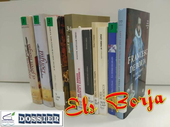 Llibres de Els Borja