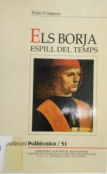 portada ELS BORJA ESPILL DEL TEMPS