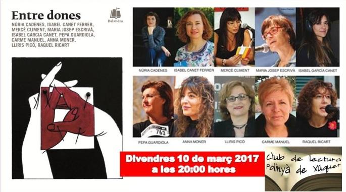 Club de lectura de Polinyà de Xúquer Entre dones