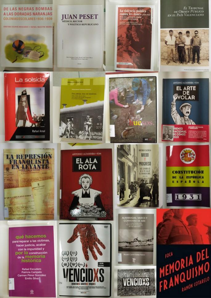 """Càtaleg del fons """"Memòria a la Biblioteca"""" de la Diputació de Valencia. Novembre 2017"""